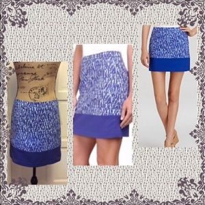 Nwt Michael kors blue pencil mini skirt